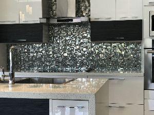 Glass Marble Steel Mosaics