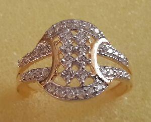Designer Gold Ring 01