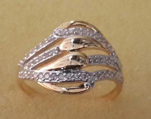 Designer Gold Ring 02