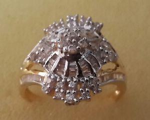 Designer Gold Ring 03