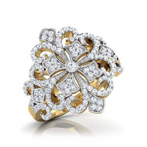 Designer Gold Ring 18