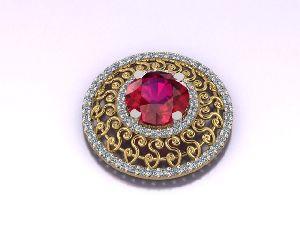 Designer Gold Ring 19