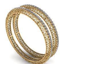 Gold Bangles 02