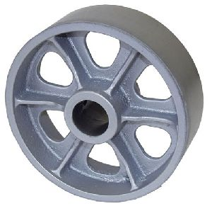 Cast Iron Trolley Wheels