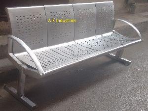 AKSB-09,Stainless Steel Four sitar bench