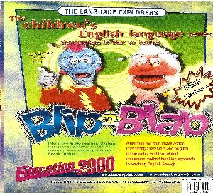 Blip And Blab Children English Language Training Dvd