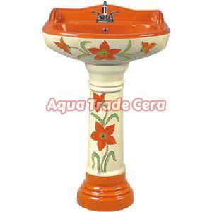 Vitrosa Pedestal Wash Basins