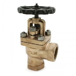 Bronze Right Angle Controllable Feed Check Valve