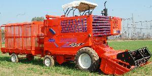 Tractor Powered Grain Harvester