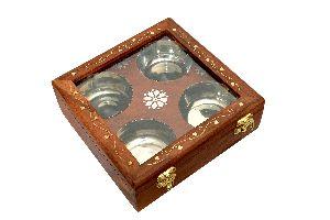 Sheesham Wood Box, Spice Box, Dry Fruit Box