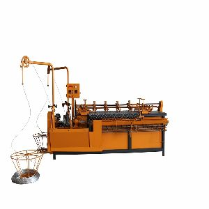 chain link wire machine