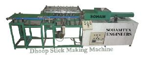 Wet Dhoop Stick Making Machine