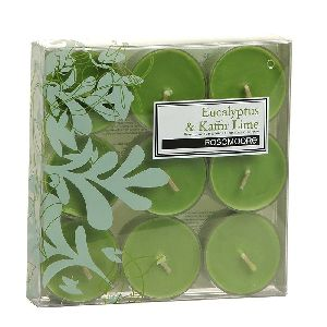 Scented Tea Lights Eucalyptus & Kaffir Lime