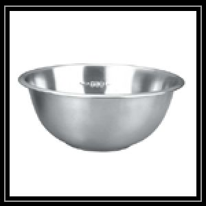 Measuring Footed Bowl
