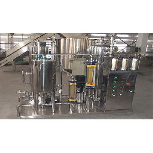 Soft Drink Mixing Tank