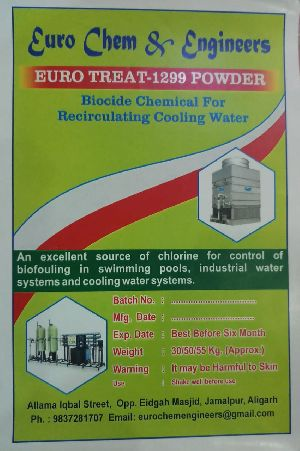 Condenser Cooling Tower Chemicals (euro Treat-1299 Biocide )