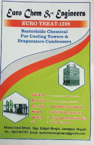 Condenser Cooling Tower Chemicals (euro Treat-1298 Bactericide)