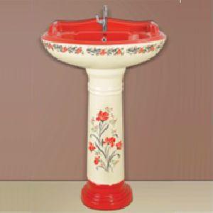 Sticker Pedestal Wash Basin