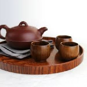 Wooden Cup Plate