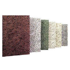 Fireproof Painted Wood Wool Panel