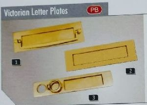Victorian Letter Plates
