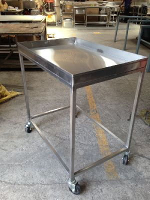Stainless Steel Esd Safe Trolley