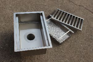 Stainless Steel Drain Trough Grating