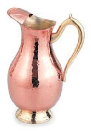 Copper And Brass Mughlai Jug
