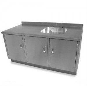 Base Cabinet With Integral Sink