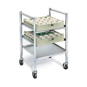 Stainless Steel Glass-cup Rack Cart