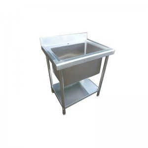 Stainless Steel Kitchen Sink Single Bowl