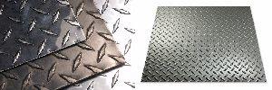 Mild Steel Checkered Coil
