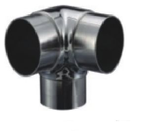 Stainless Steel 3-Way Elbow