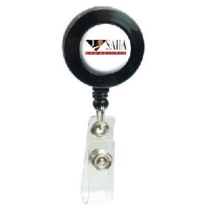 Domed Retractable Badge Holder