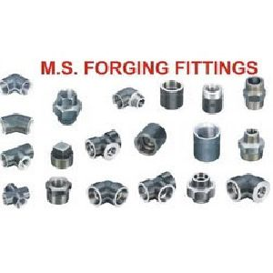 Ms forged fittings