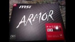 MSI Radeon RX 580 ARMOR OC 8GB GDDR5 Video Card