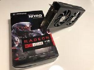 Sapphire nitro RX460 4GB Graphics Card