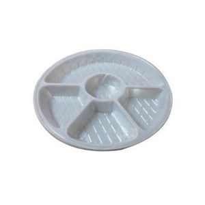 Disposable Round Plastic Plate