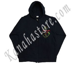 Embroided Hoodie Jackets