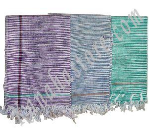 Kadhi Cotton Gamcha - Traditional Indian Bathing Towel