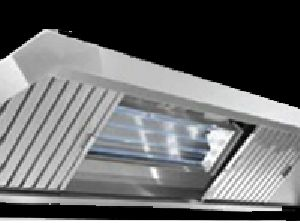 UV Kitchen Exhaust Hood