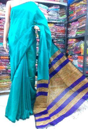 Handloom Pure Khadi Ghicha Saree