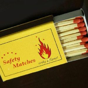 Cardboard Match Boxes