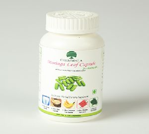 Moringa Leaf Powder Capsule