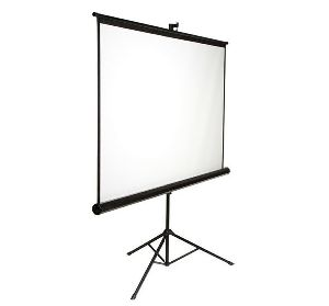 Matte White Tripod Projector Screen