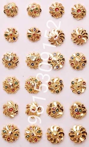 Buy Pure Gold Nose Pin From Harjinder Singh And Sons India Id