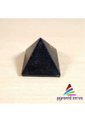 Black Tourmaline With Mica Pyramid