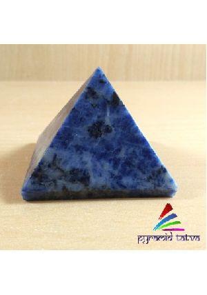 Blue Sodalite Pyramid