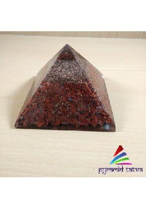 Carnelian Orgonite Pyramid