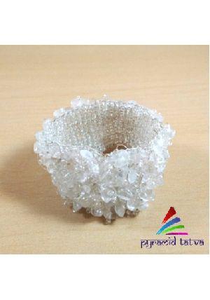 Clear Quartz Chip Bracelet 1